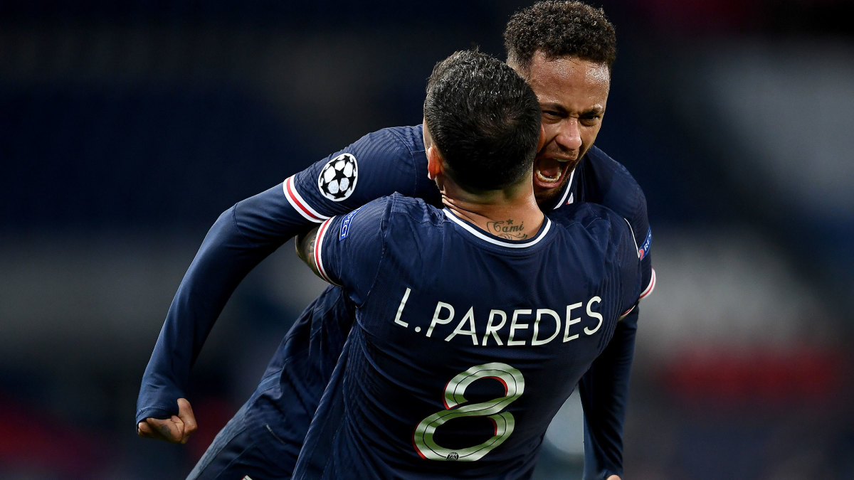 Neymar and PSG are through to the Champions League semifinals