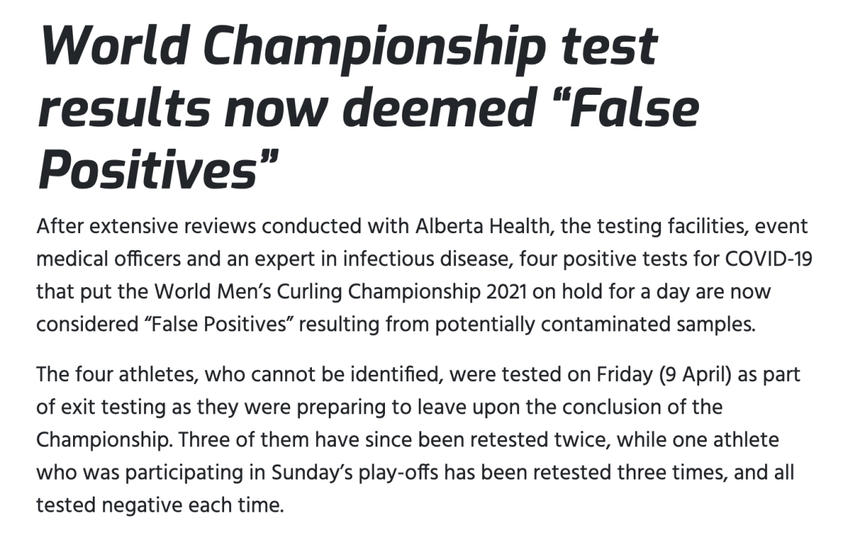 False Positives excerpt