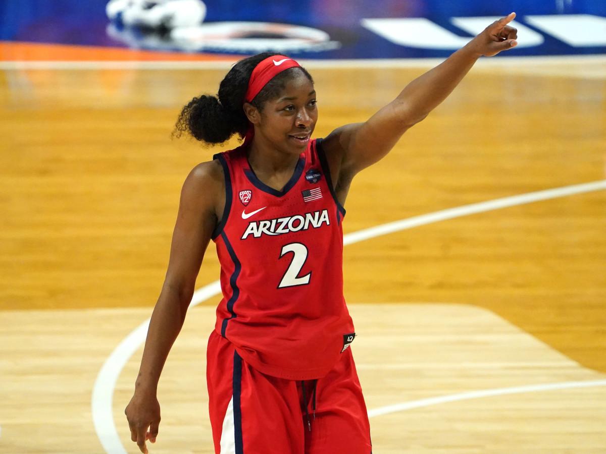 Arizona guard Aari McDonald
