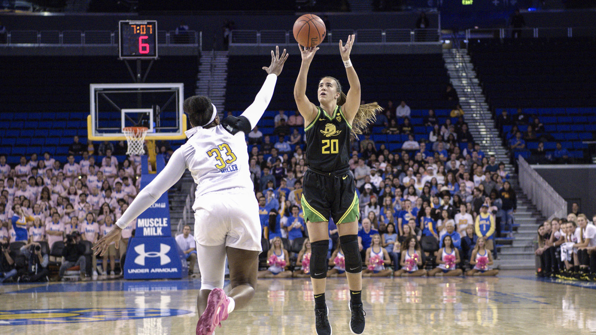 Ionescu had more triple doubles as a Duck than any other college player.