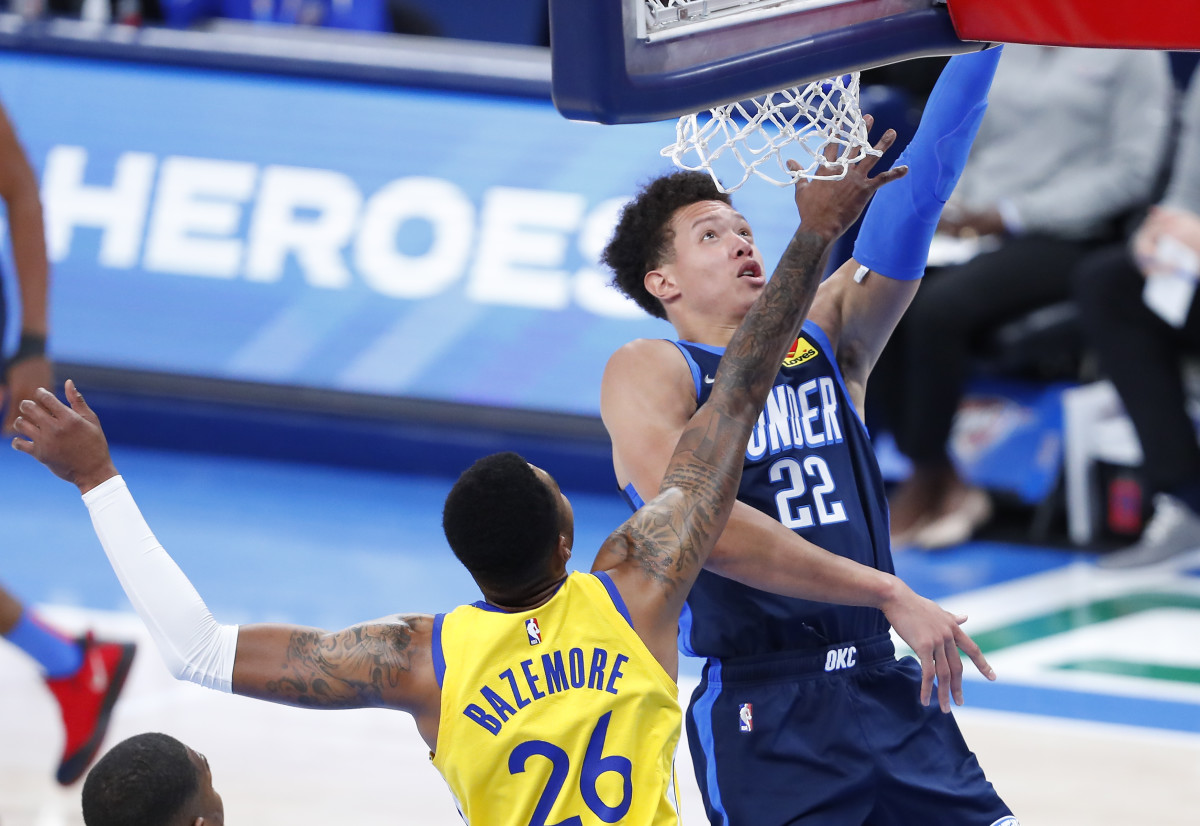 Isaiah Roby vs Golden State