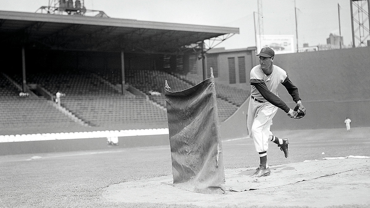 Williams wasn't above throwing BP in the days before the L-screen.