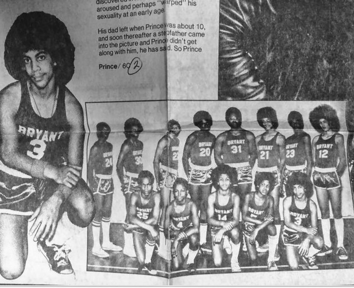 Prince's on-court peak, at Bryant Junior High in Minneapolis.