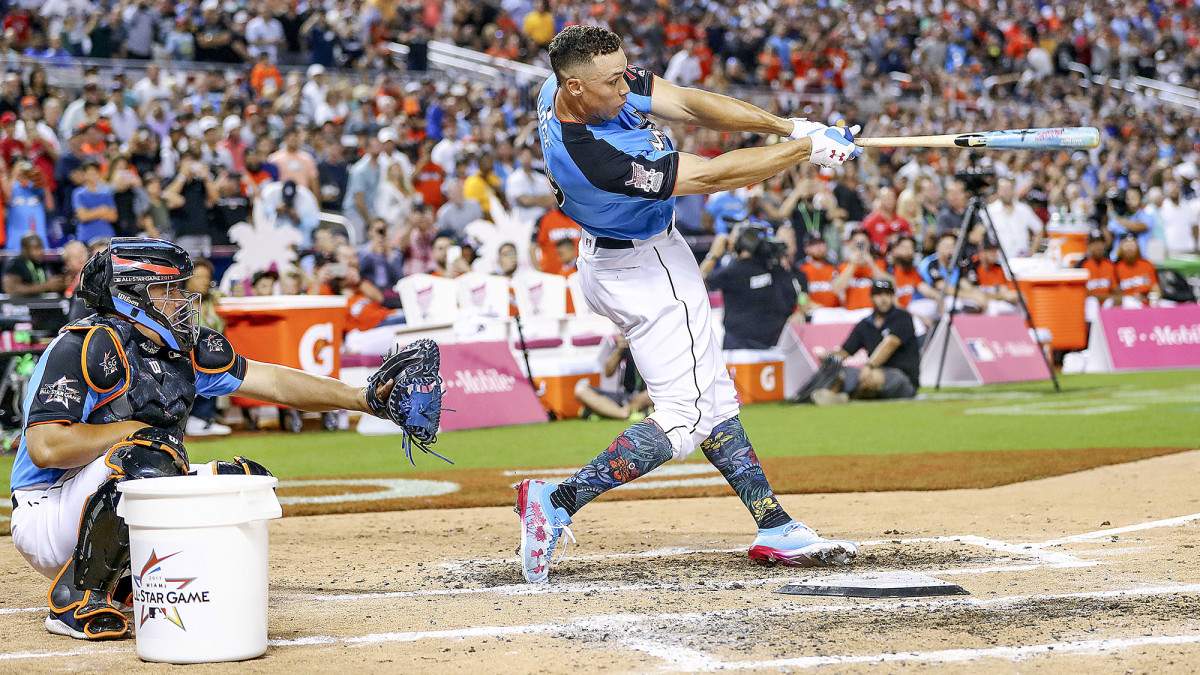 With help from Valiente, Judge blasted 47 homers at the 2017 Home Run Derby.