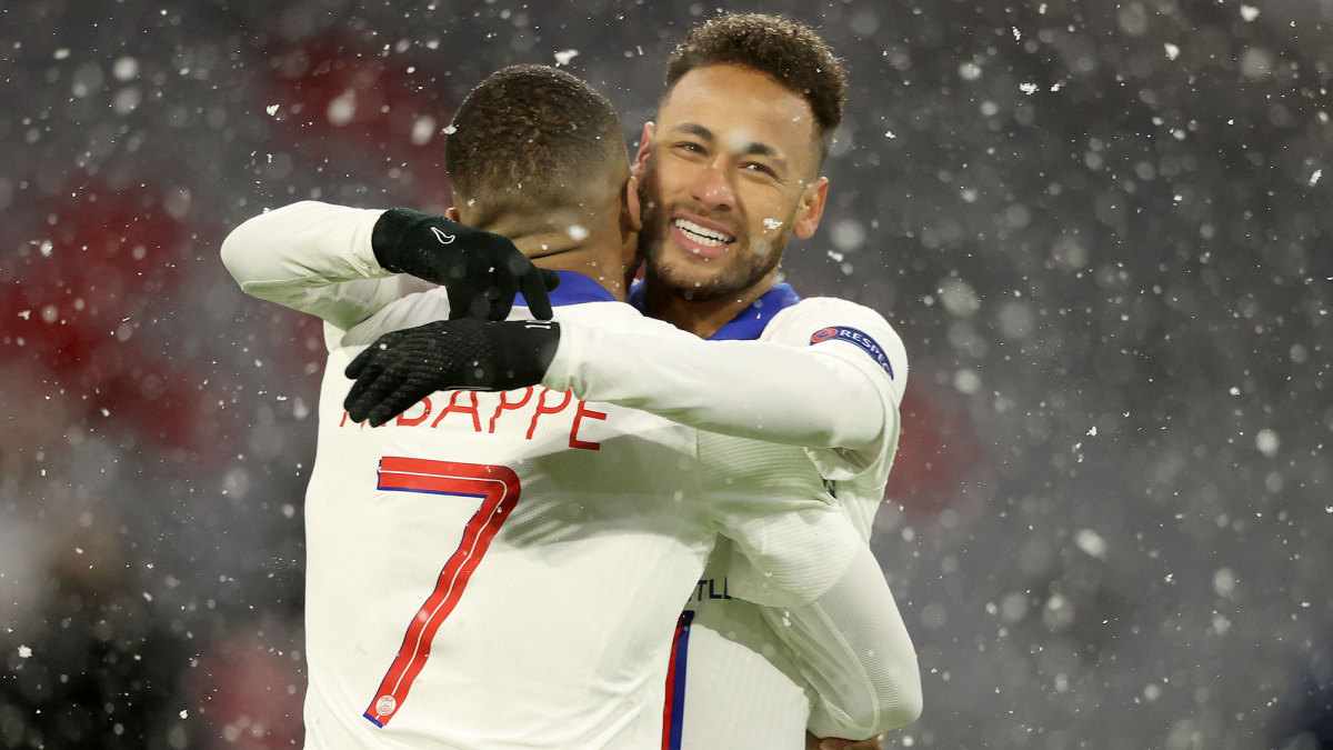 Neymar and Kylian Mbappe help PSG to the Champions League semifinals