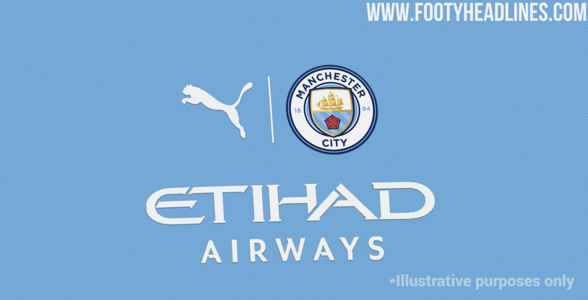 A New Logo Style Could Be Used On The 2021 2022 Man City Kit Sports Illustrated Manchester City News Analysis And More