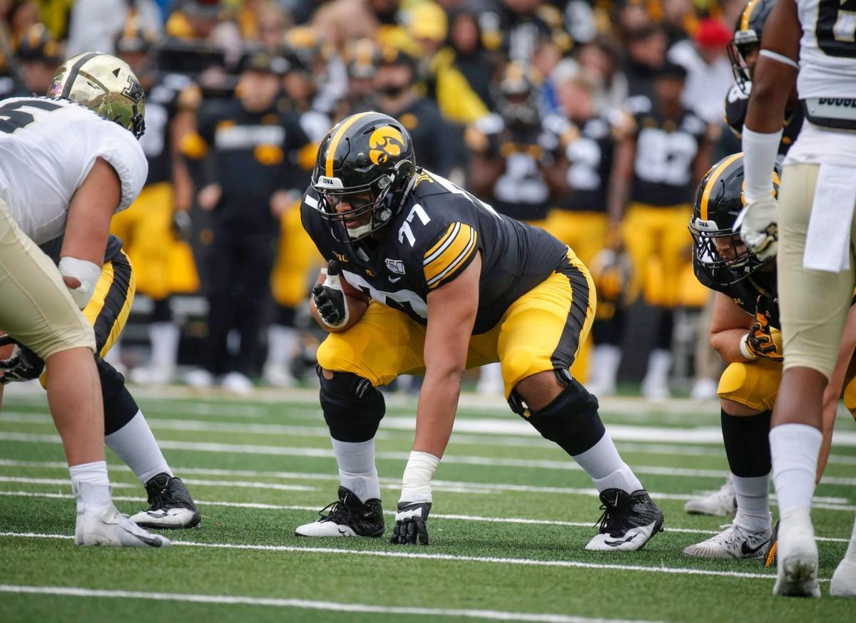 Alaric Jackson - OT - Iowa