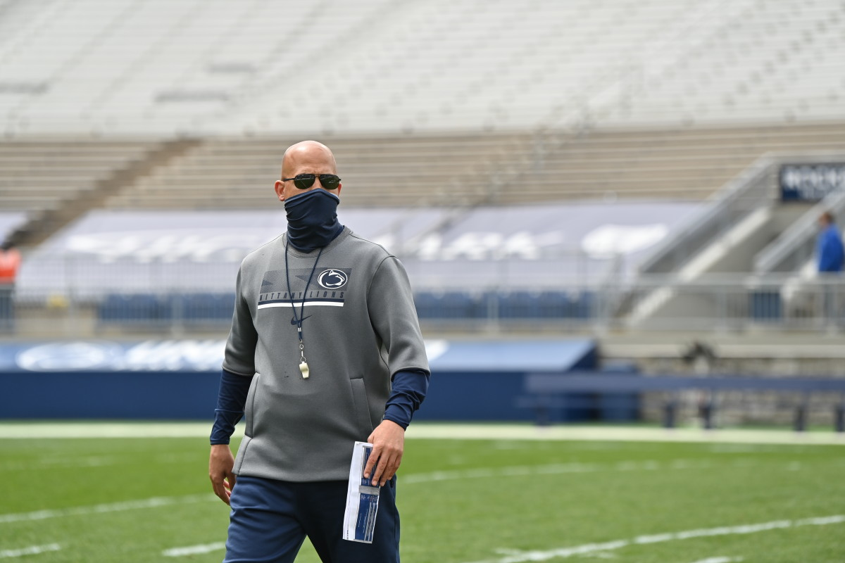 Head coach James Franklin