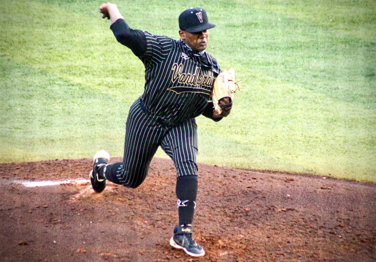 Vanderbilt starter Kumar Rocker, who was named Most Outstanding Player when the Commodores won the 2019 College World Series.