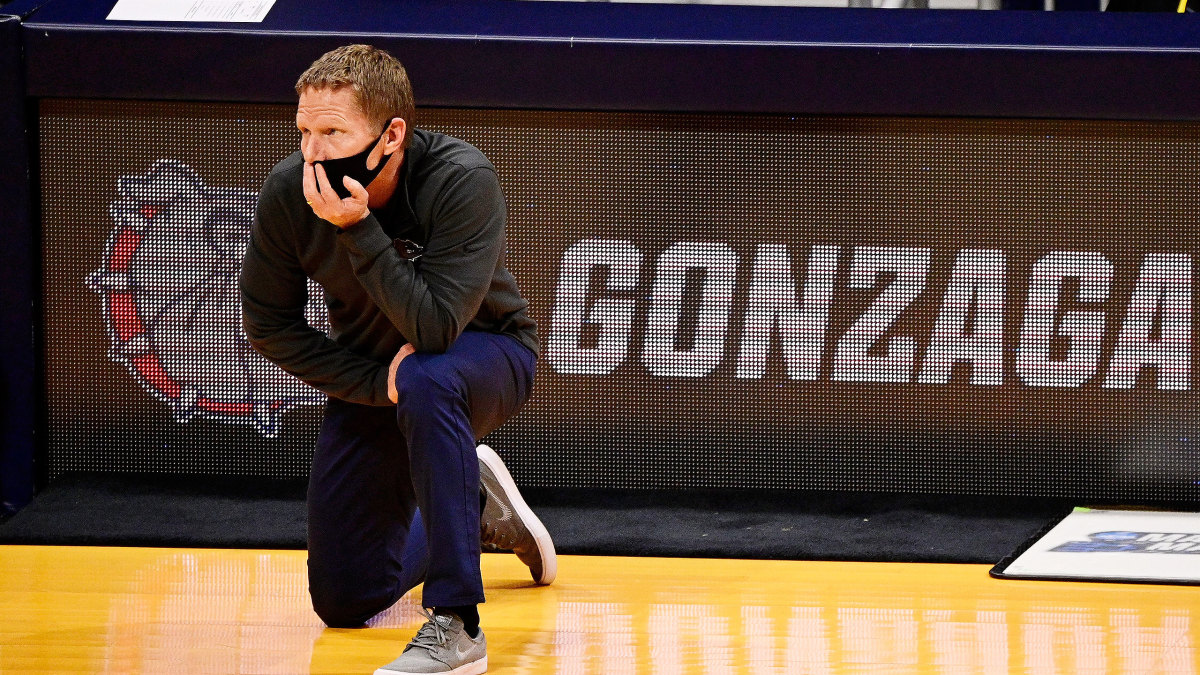 Gonzaga head coach Mark Few