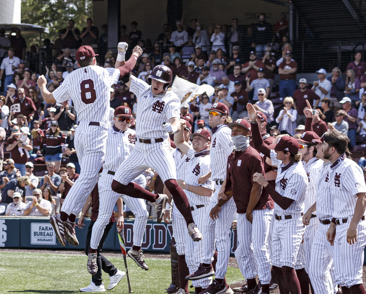 Mississippi State keeps holding strong in the national rankings following a series win over Ole Miss. (Photo courtesy of Mississippi State athletics)