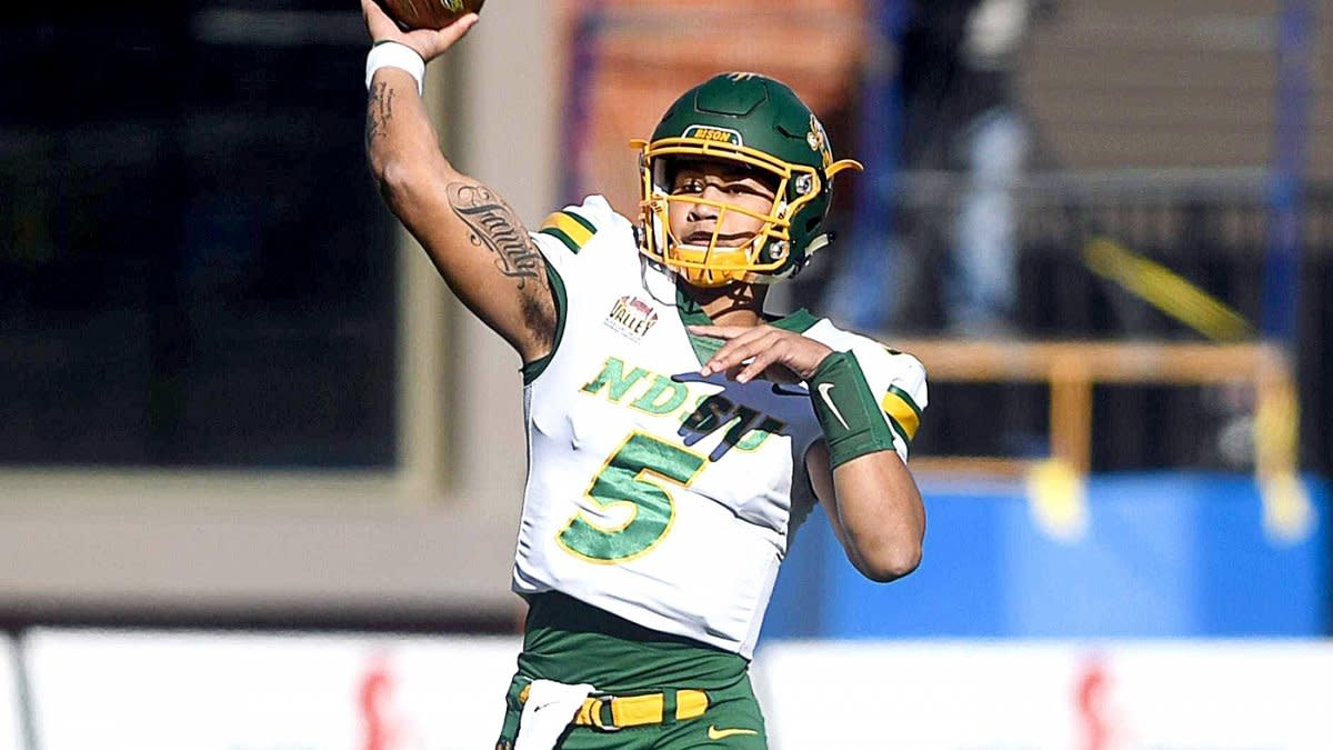 Trey Lance has the arm strength and athleticism to be the best North Dakota State quarterback to be in the NFL.