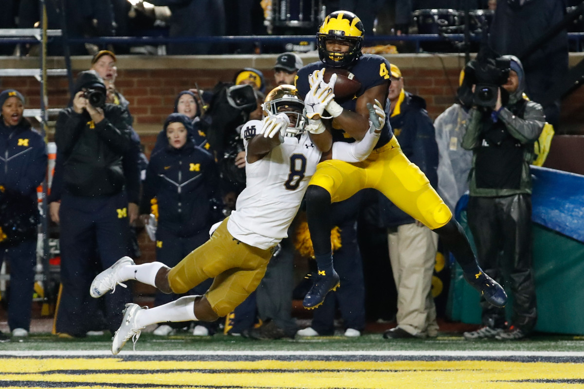 Nico Collins is a potential steal at wide receiver if a wide receiver-needy team can snag him in the middle rounds.