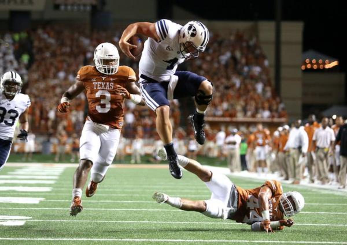 Taysom Hill Texas Hurdle