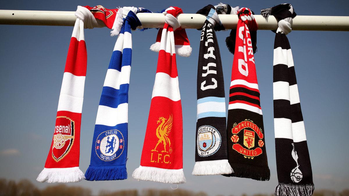 The Premier League's Big Six