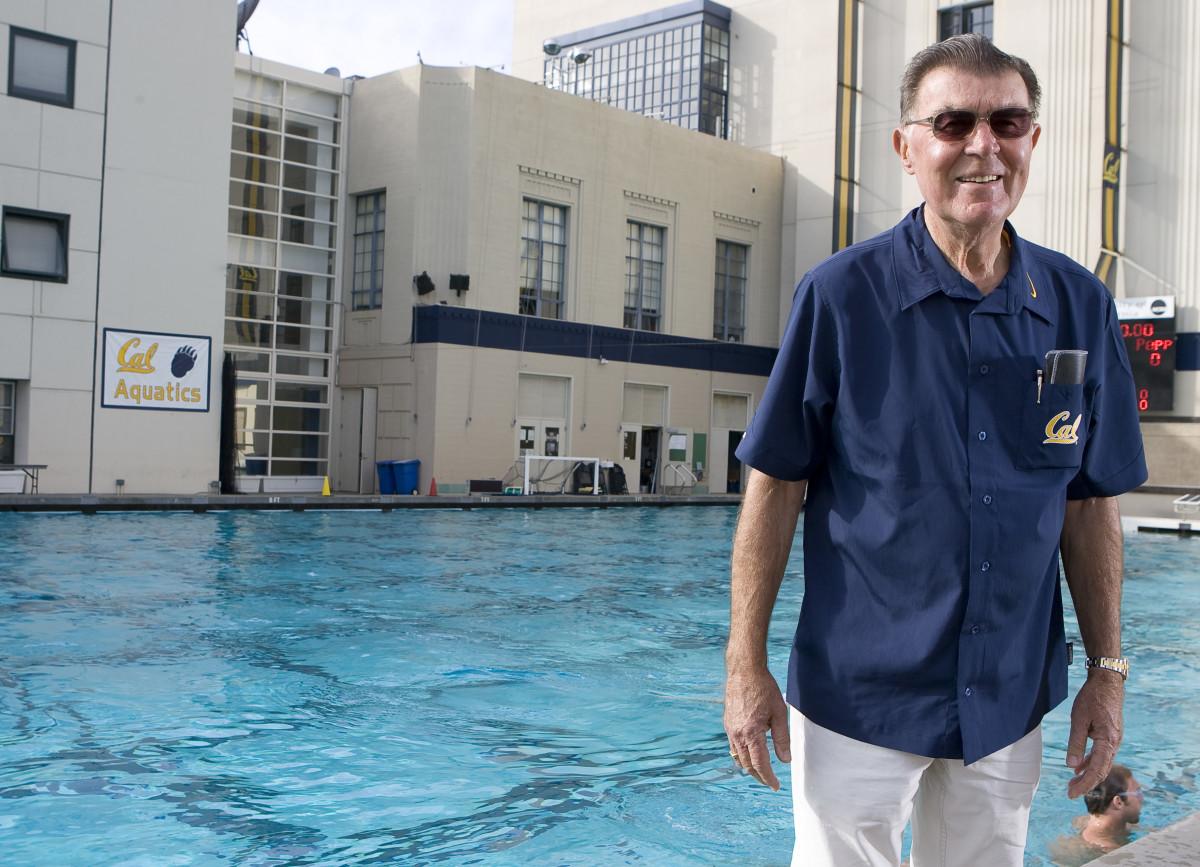 Former Cal swim coach Nort Thornton