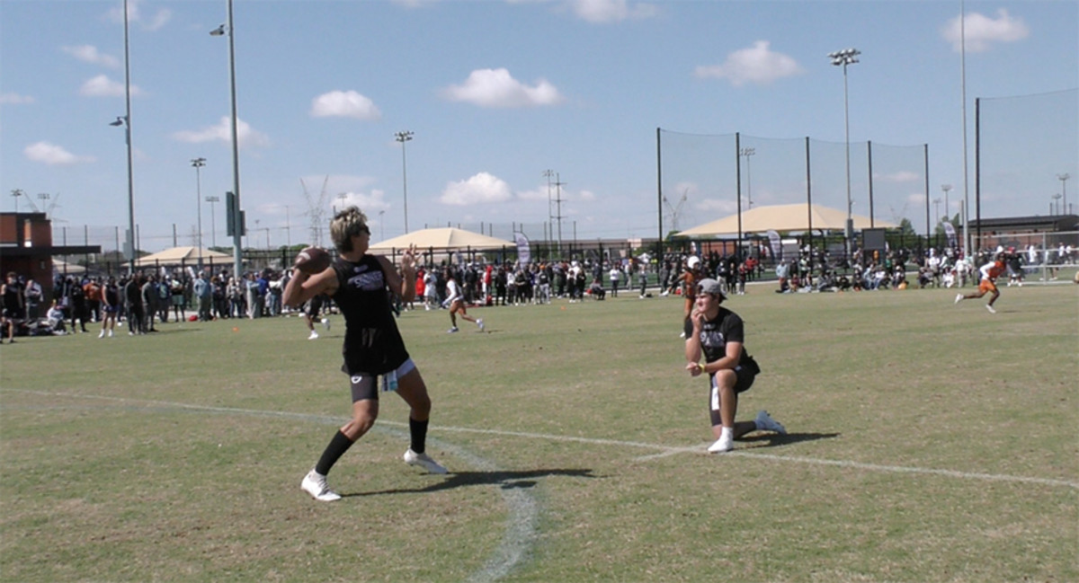 Steele Wasel was one of the standout performers at the Championship 7v7 Southwest Regional