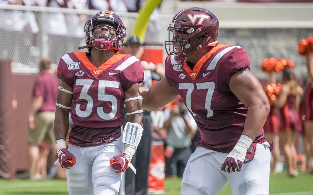 Virginia Tech's offensive tackle, Christian Darrisaw, has proven to be one of the best prospects in the 2021 NFL Draft class.