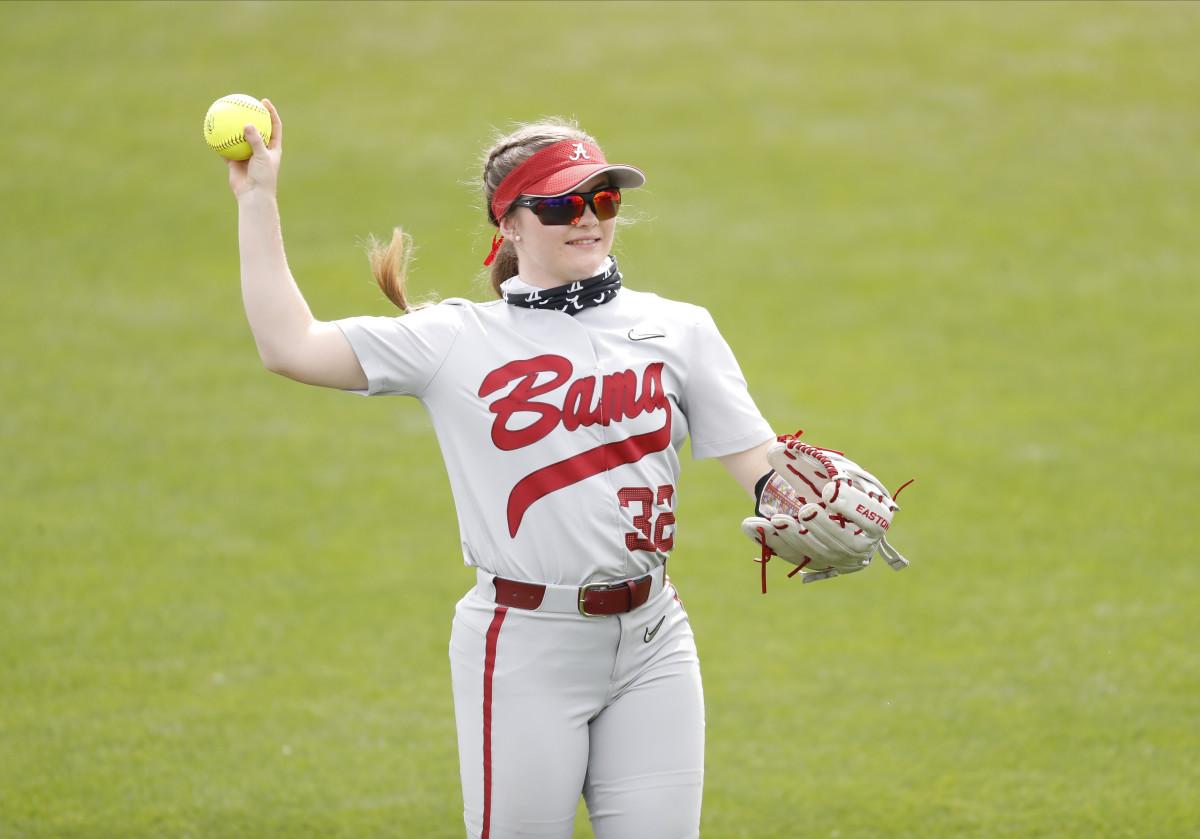Alabama softball player Kat Grill