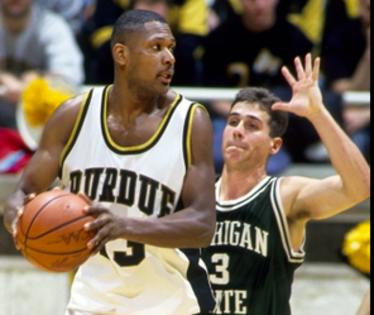 Glenn Robinson scored 1,030 points during the 1993-94 season, the most in Purdue basketball history. (USA Today Sports)