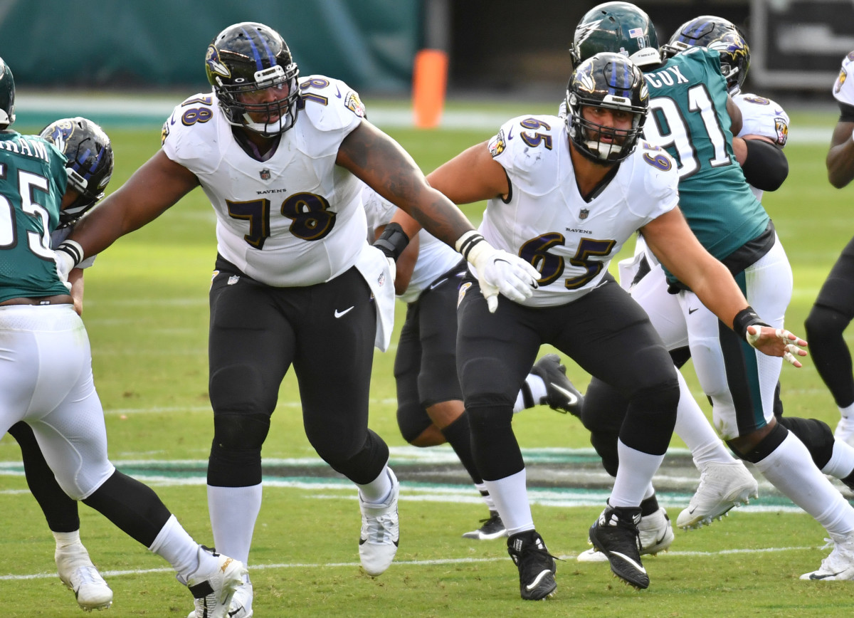 Orlando Brown, Baltimore Ravens