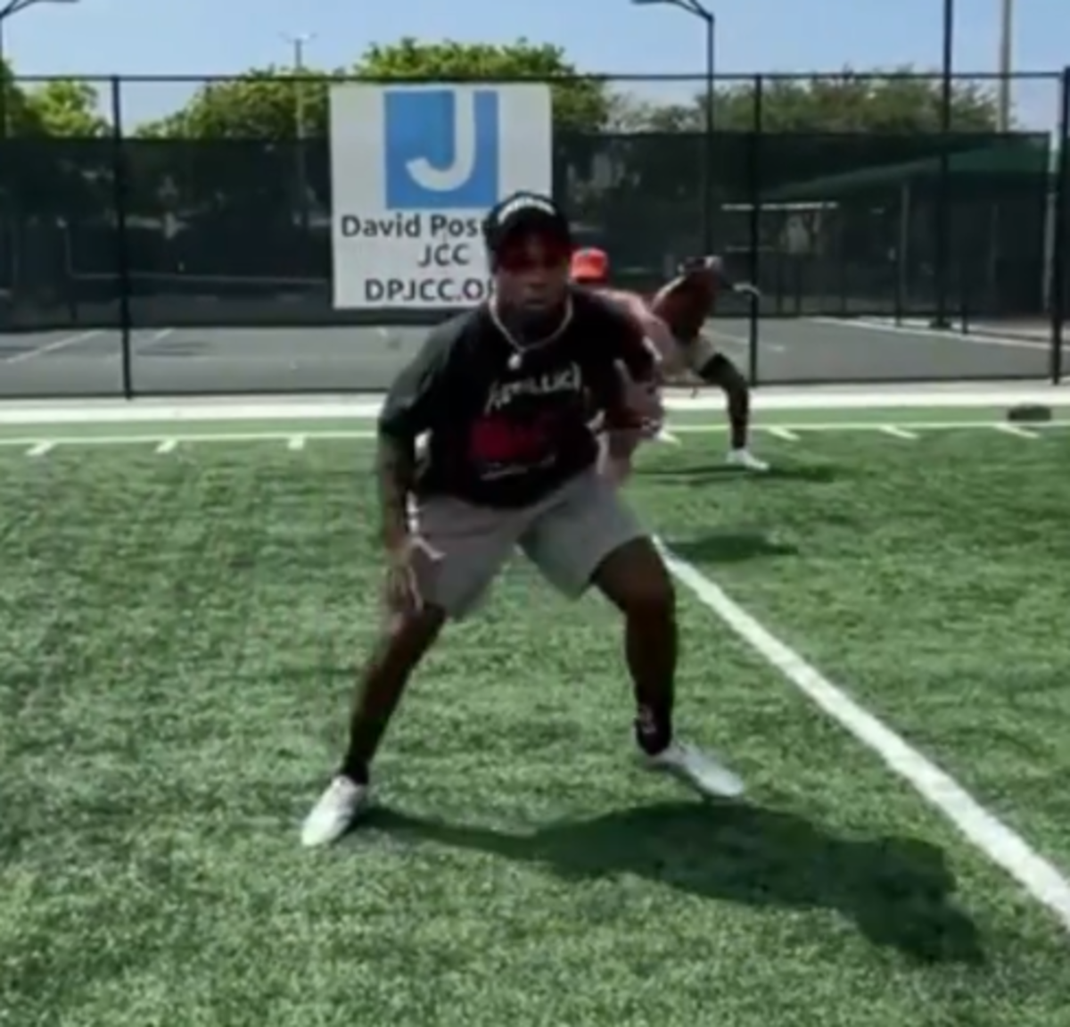 Kwon Alexander workout with Dr. Reef
