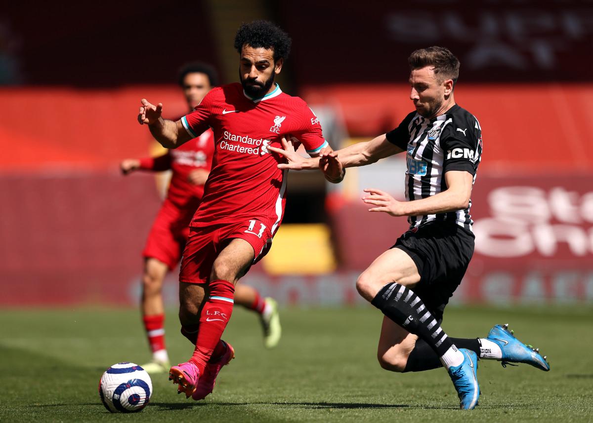 Mohamed Salah Newcastle
