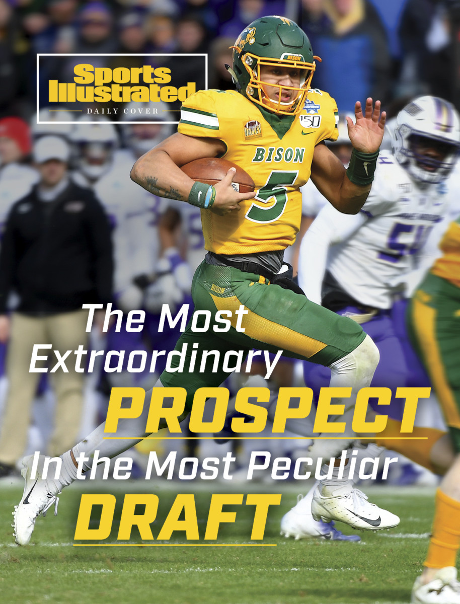 Trey Lance Sports Illustrated Daily Cover