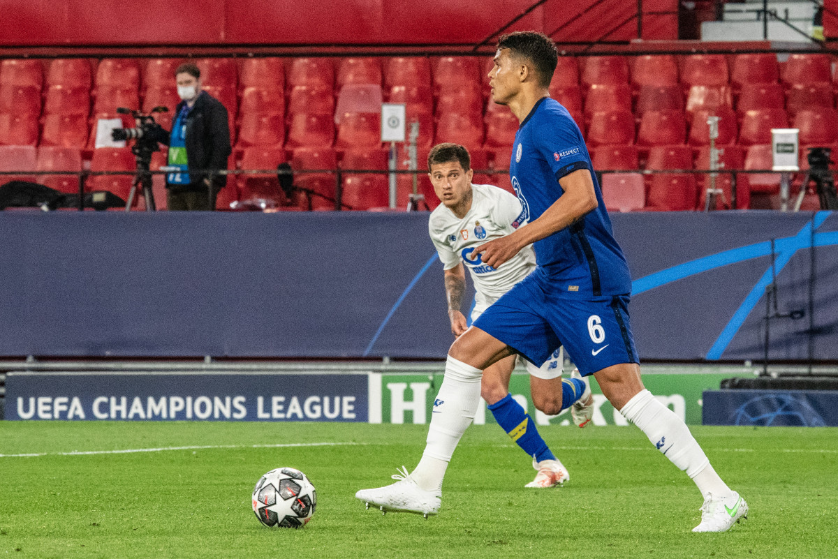 Chelsea progressed past FC Porto in the quarter-finals with a 2-1 aggregate win.