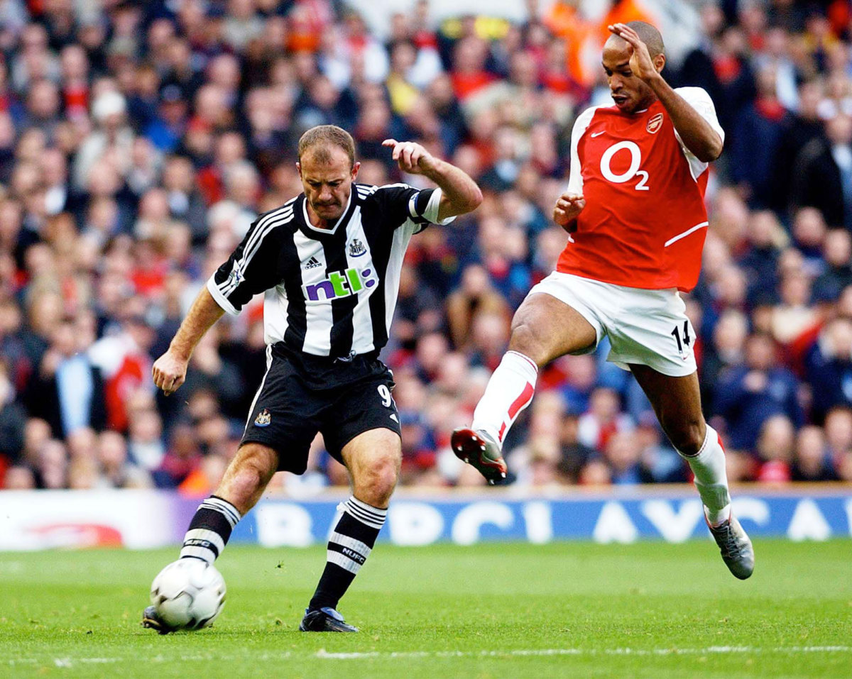 Alan Shearer and Thierry Henry are the first inducted to the Premier League Hall of Fame