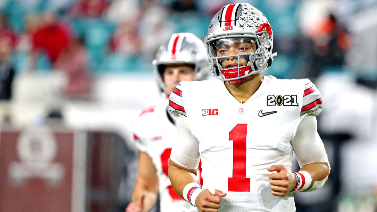 Justin Fields, the player and the story line, in the NFL draft - Sports  Illustrated