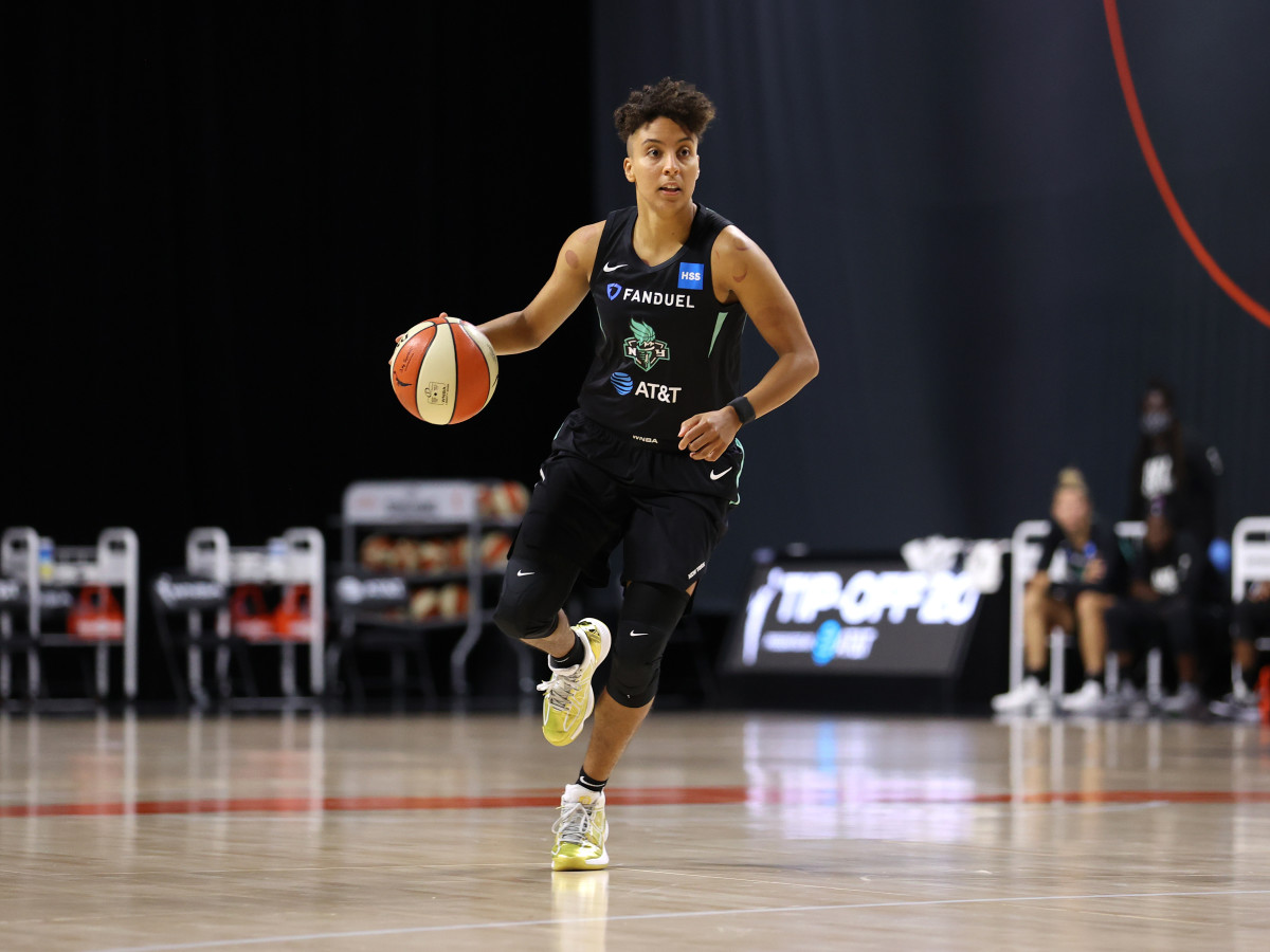 Layshia Clarendon averaged a career-best 11.5 points last season for the New York Liberty.