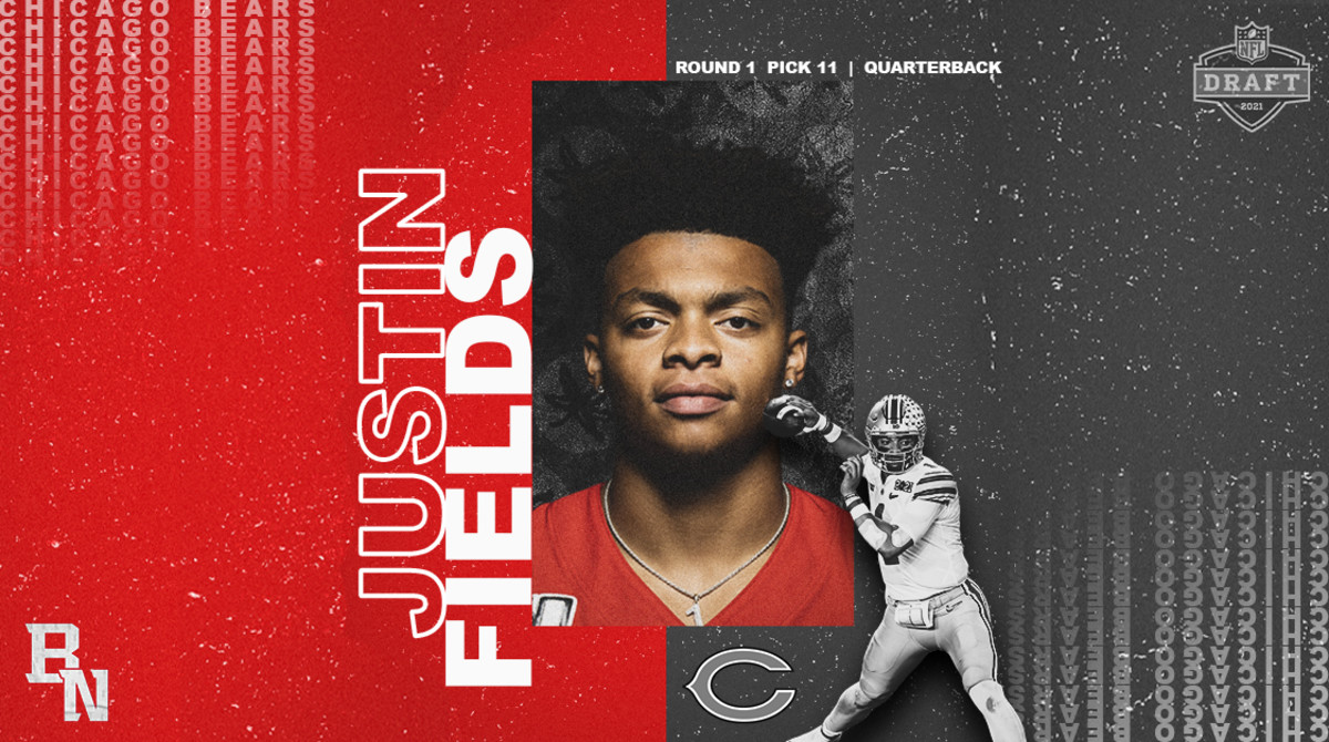Justin Fields NFL Draft Card
