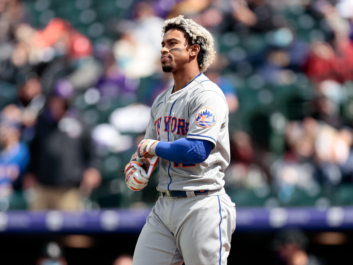 Francisco Lindor has struggled so far in his first year with the Mets. He enters play on Friday hitting .203.