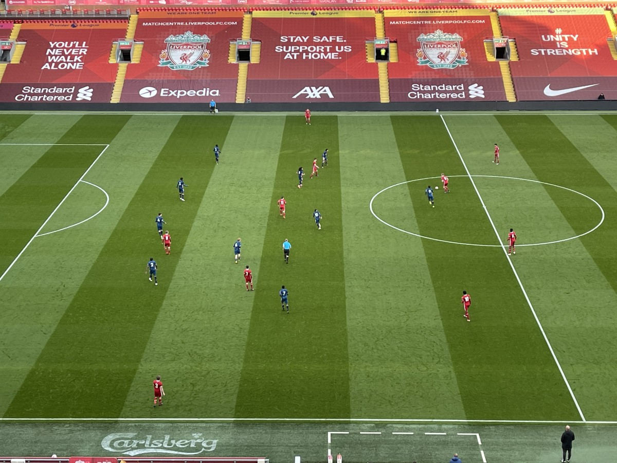 Brilliant occasion for the young Reds, the weather isn't too bad for it either.