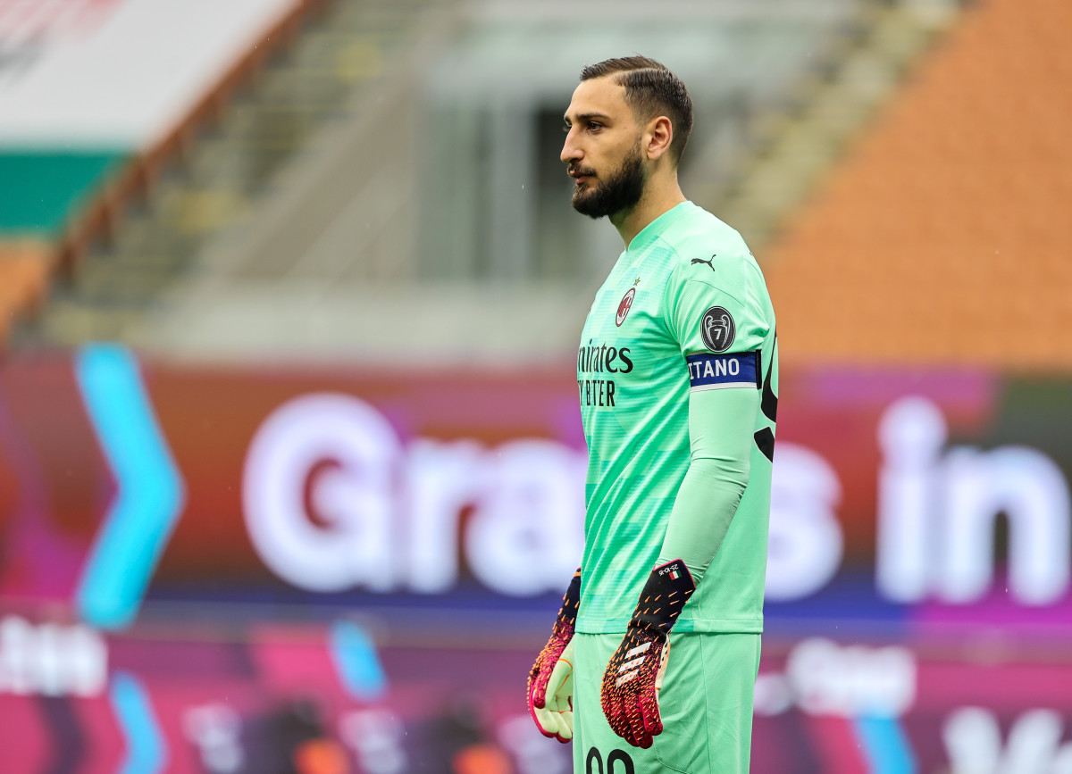 Gianluigi Donnarumma is set to become a free agent in the summer