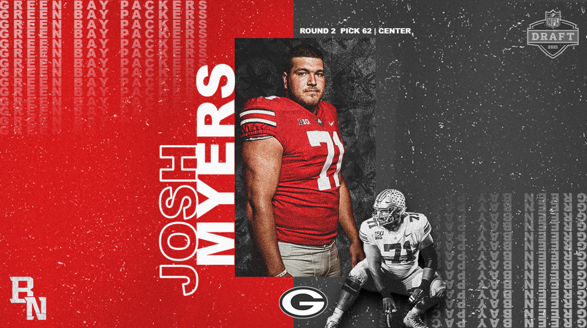 Josh Myers NFL Draft Card