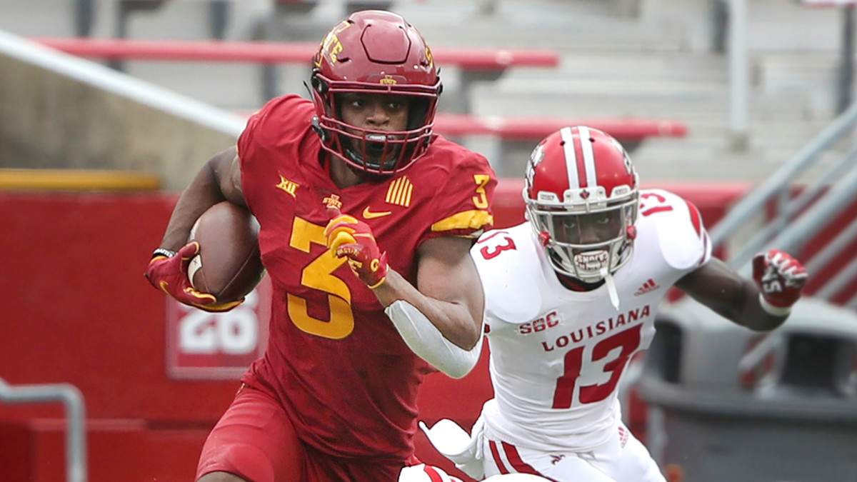 Iowa State running back Kene Nwangwu