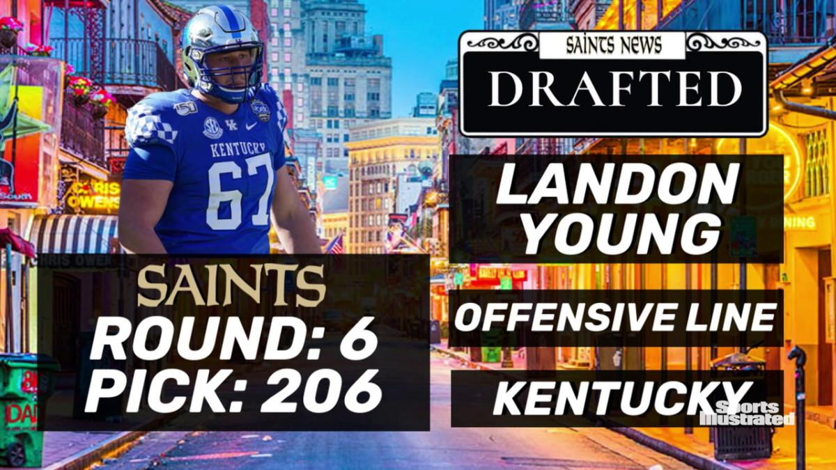 Saints Select Landon Young