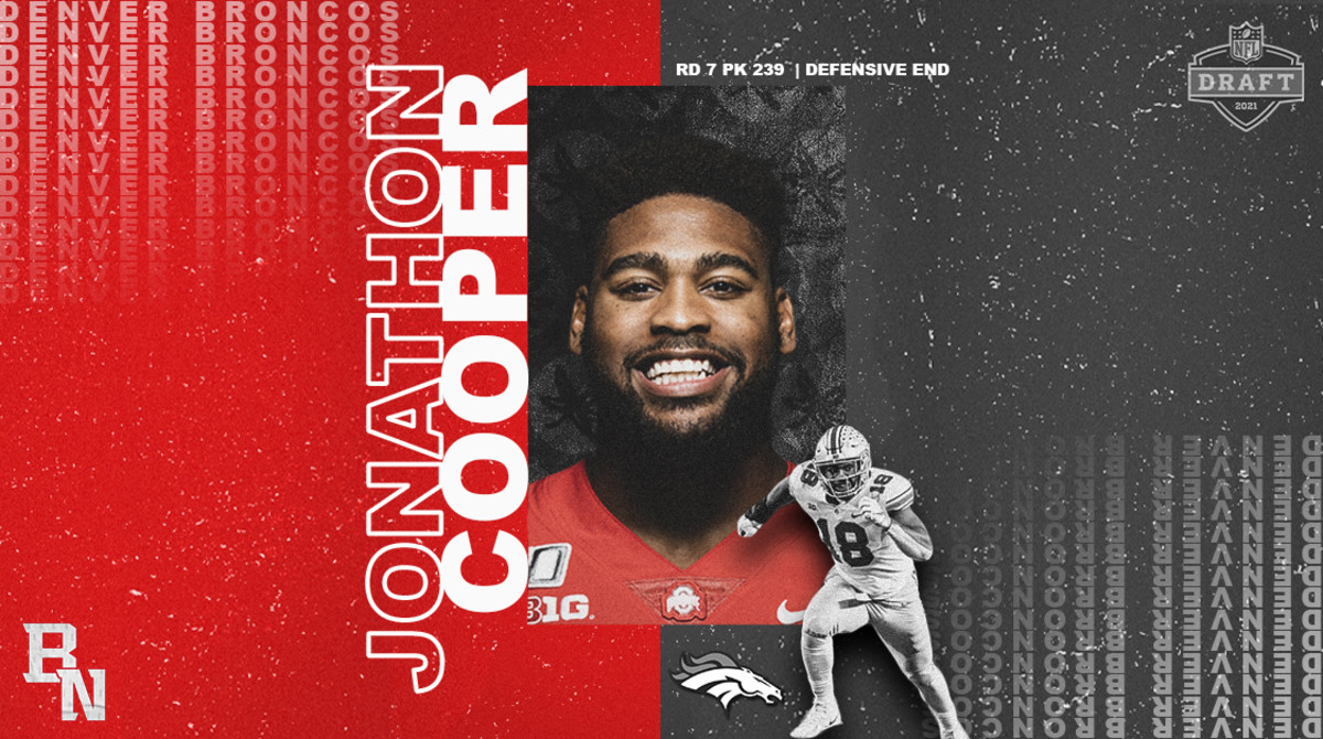 Jonathon Cooper NFL Draft Card