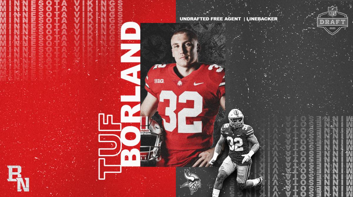 Tuf Borland NFL Draft Card