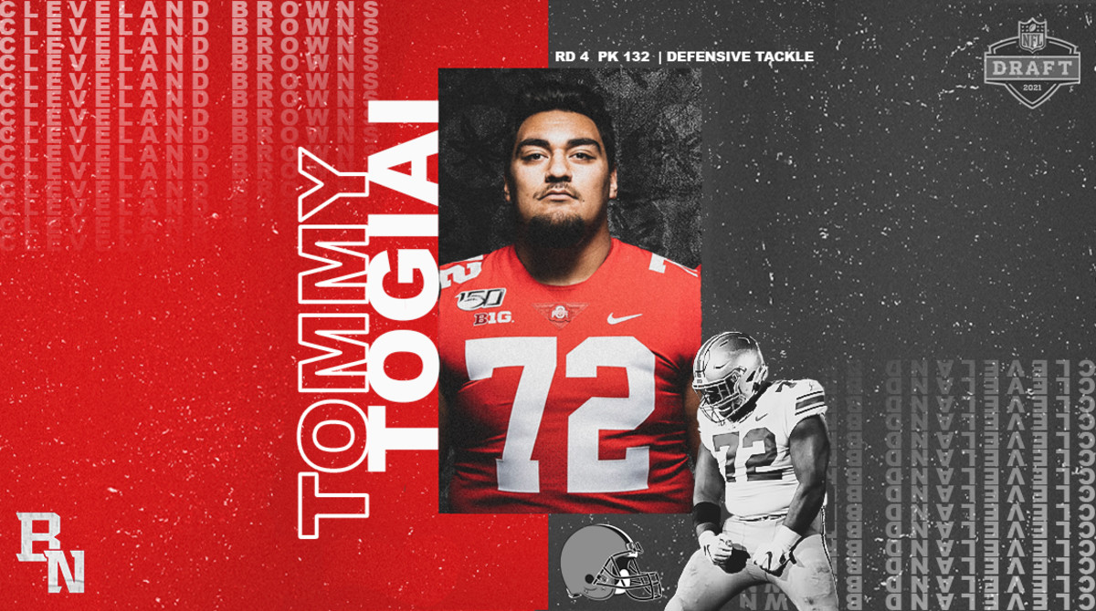 Tommy Togiai NFL Draft Card