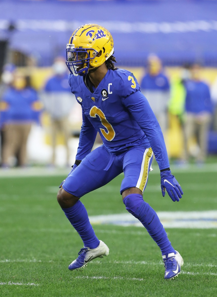 The Bills made Pitt safety Damar Hamlin a sixth-round draft pick.
