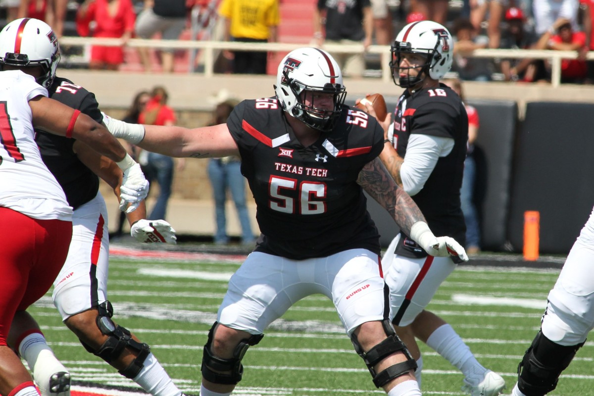 The Bills on Saturday made Texas Tech guard Jack Anderson their final draft pick of 2021.