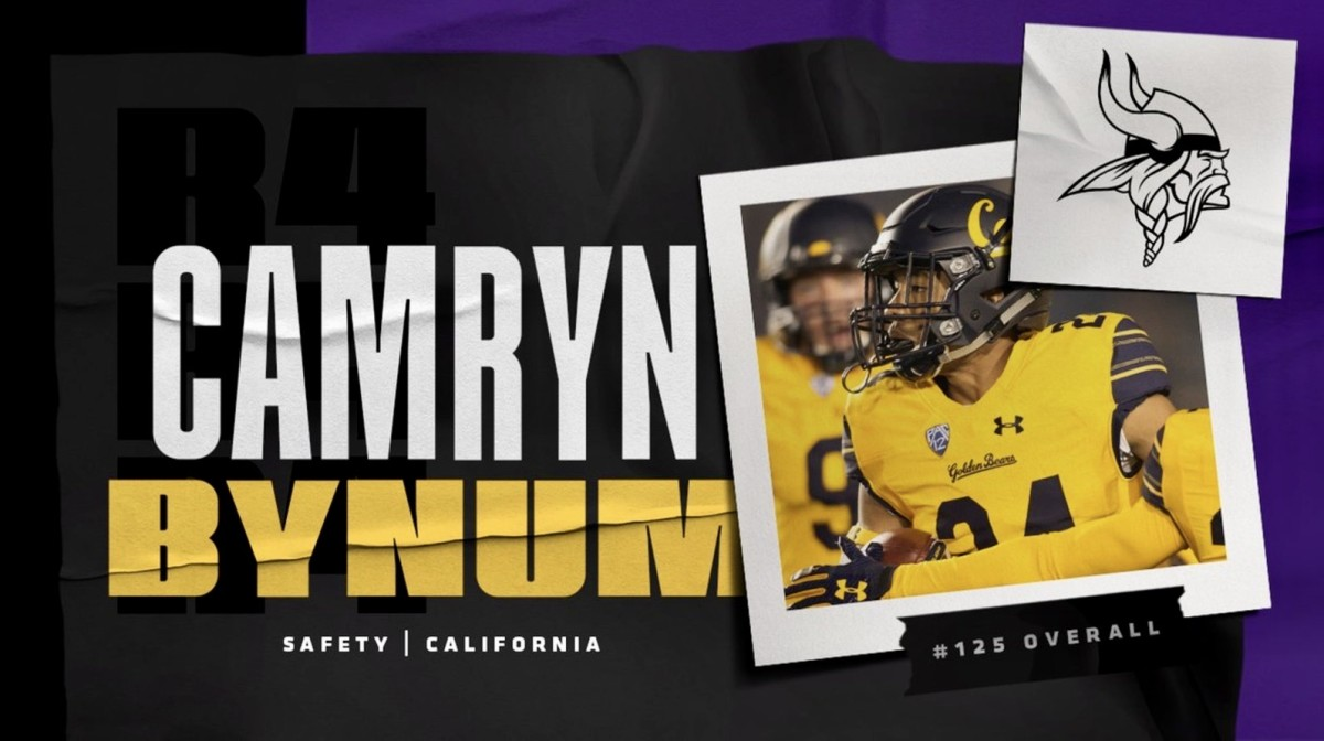Former Cal Star Camryn Bynum Embraces Move to Safety with Vikings