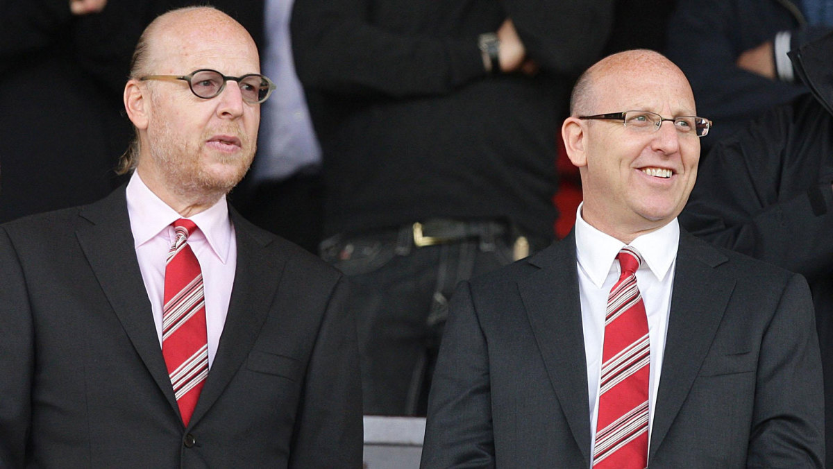 Manchester United owners Joel and Avram Glazer