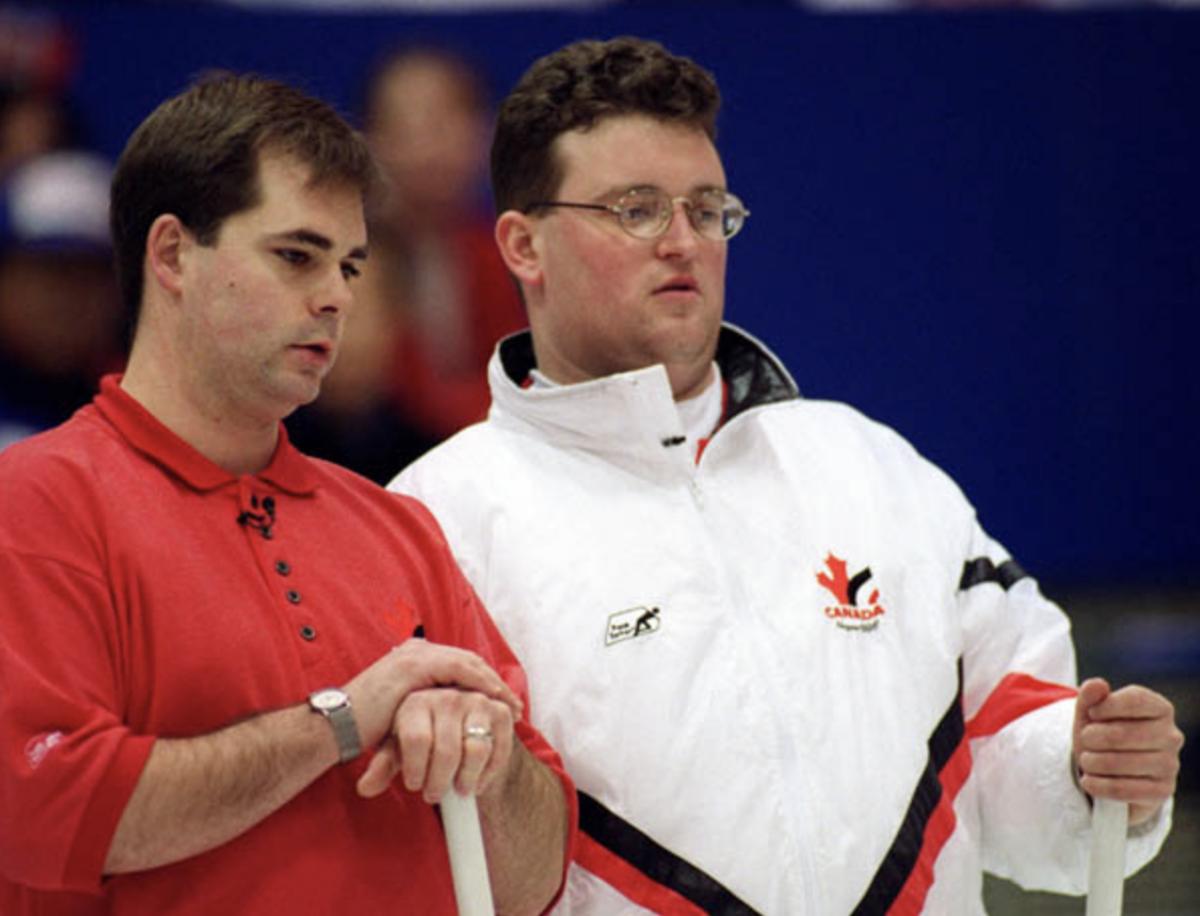 Richard Hart (left), Mike Harris • CP Photo/COA