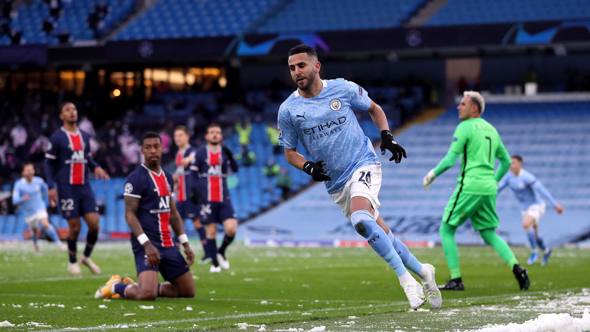 Man City vs PSG video: Mahrez double punches UCL final ticket - Sports  Illustrated