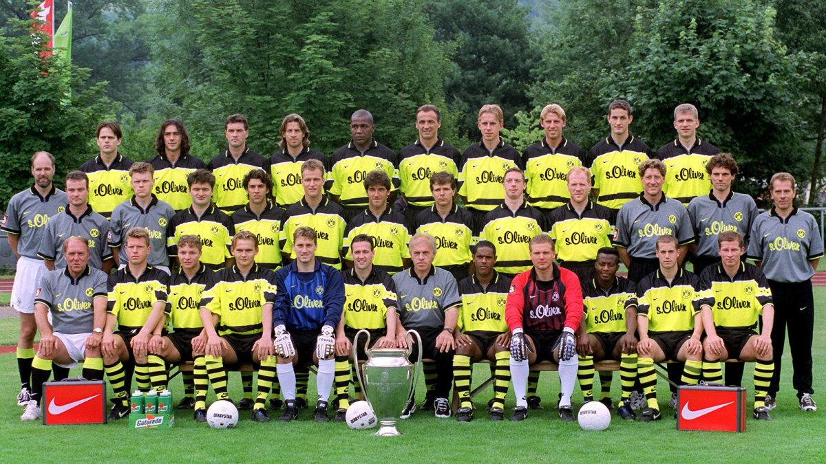 Dortmund's Champions League winners with American Jovan Kirovski