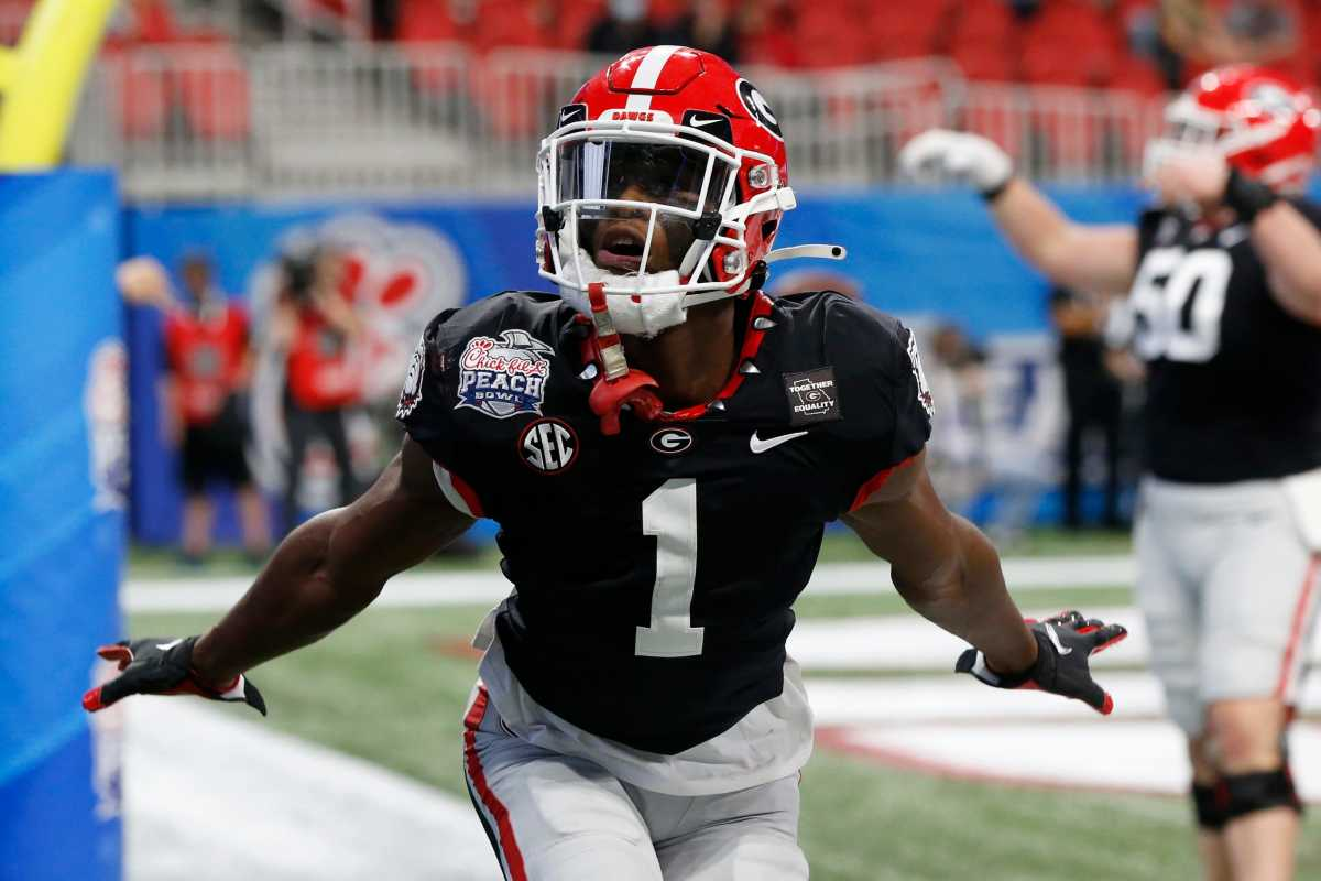 George Pickens flashed on the scene and hasn't looked back, being regarded as the best WR in college football.
